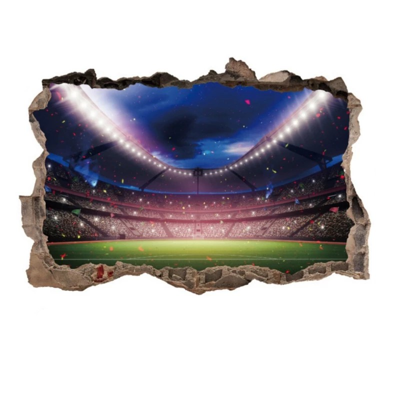 Sticker Stade de foot