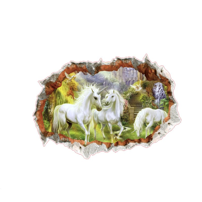 Sticker Licornes
