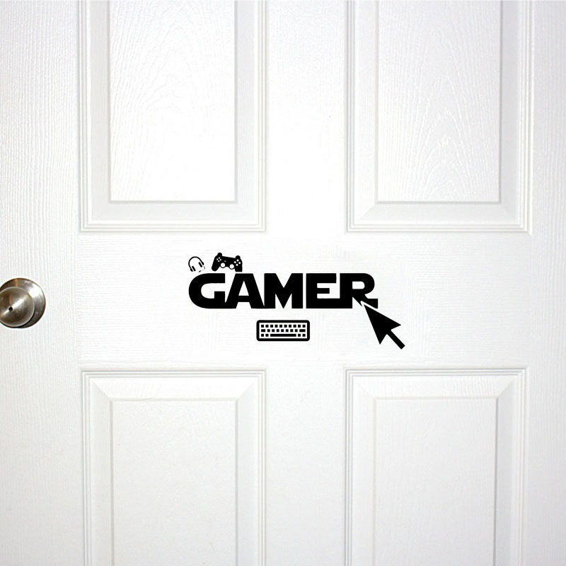 Sticker Gamer PC console