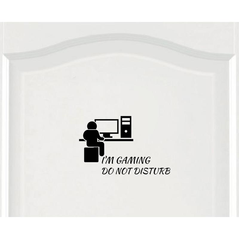 Sticker Gamer Ne pas déranger