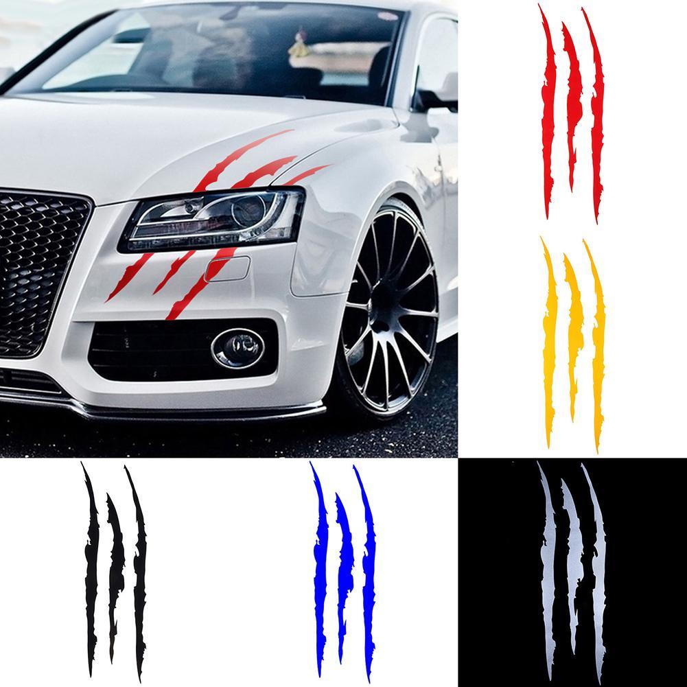 Sticker Trace de griffes voiture