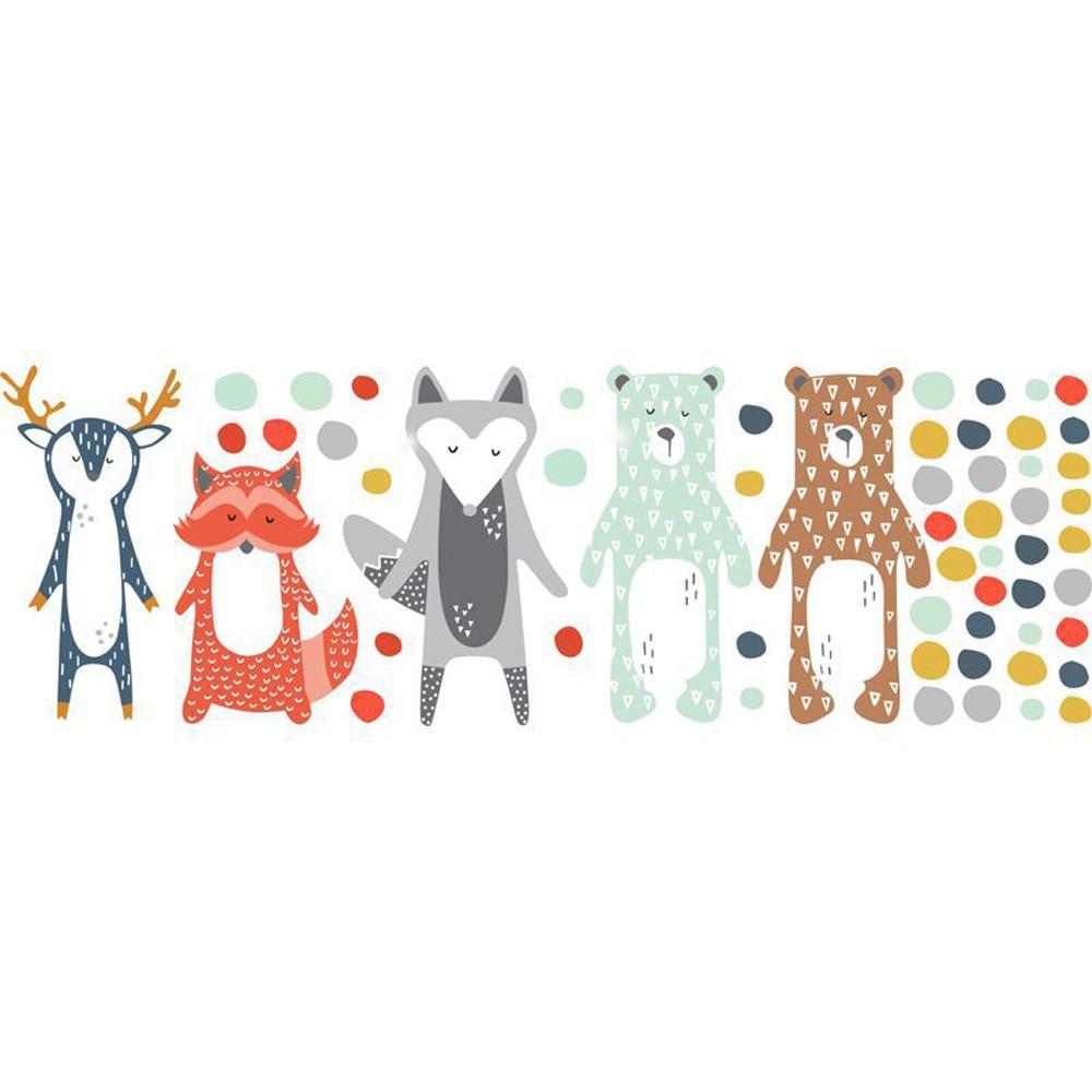 Sticker Animaux nordiques