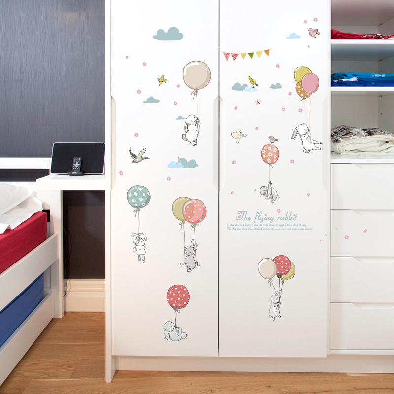 Sticker Animaux et ballons