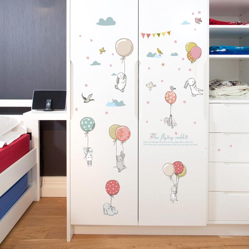 Sticker Animaux et ballons