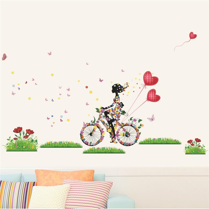 Sticker Vélo ballons