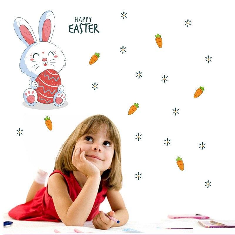 Sticker Lapin carottes