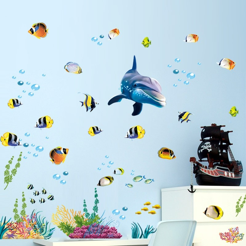 Sticker Animaux de l\'océan