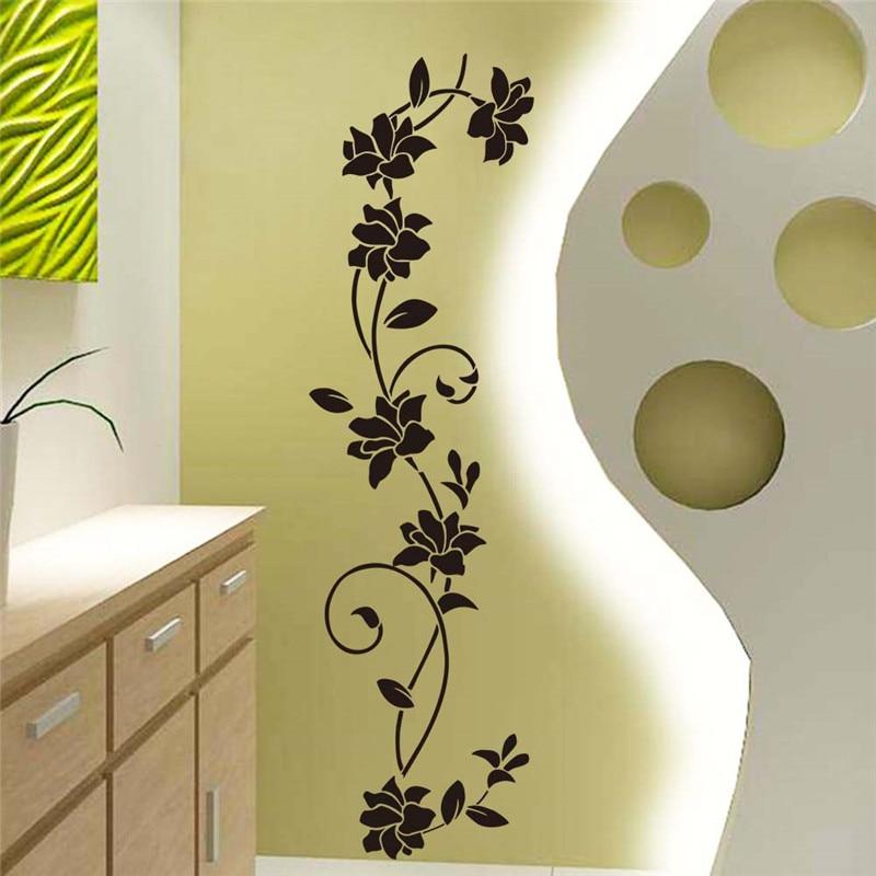 Sticker Fleur murale