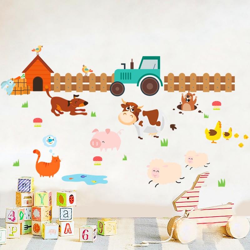 Sticker Animaux de la ferme