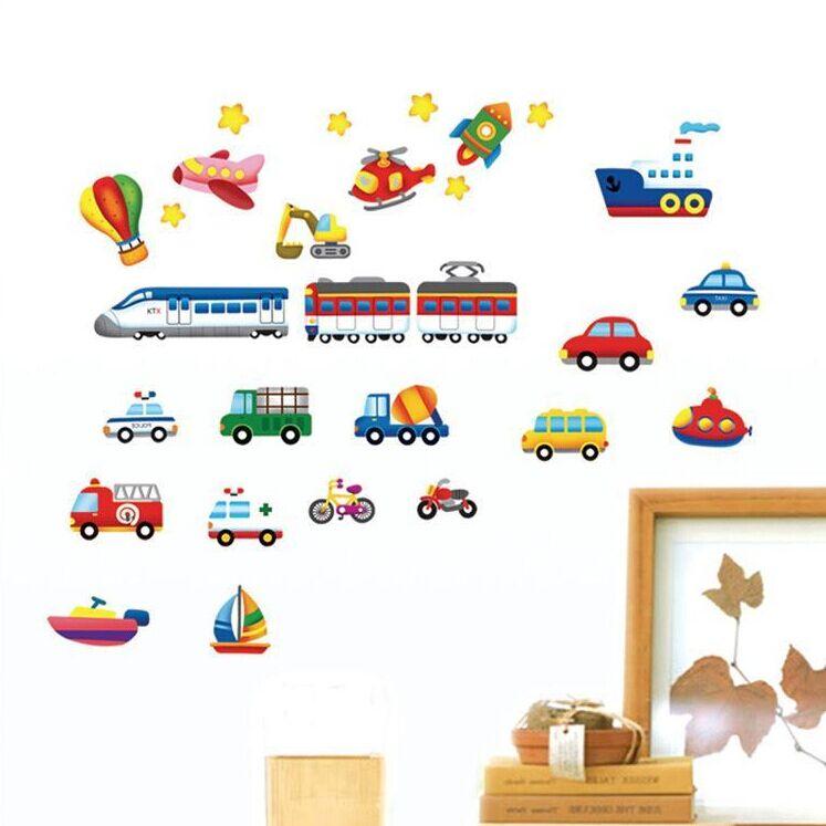 Sticker Véhicules Air Terre Mer