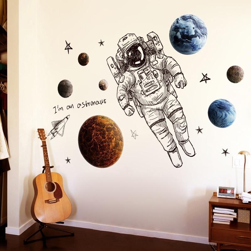 Sticker Je suis un astronaute