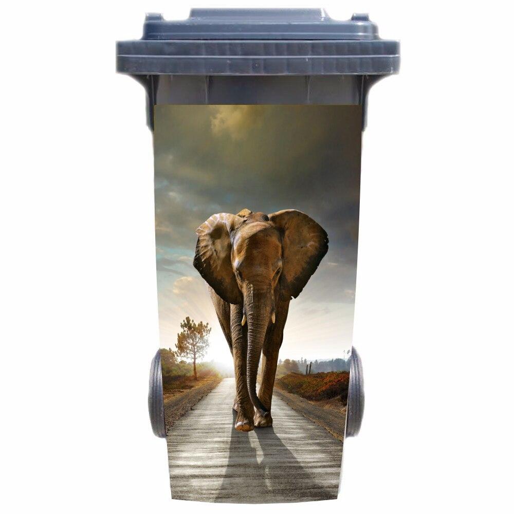 Sticker Poubelle Eléphant