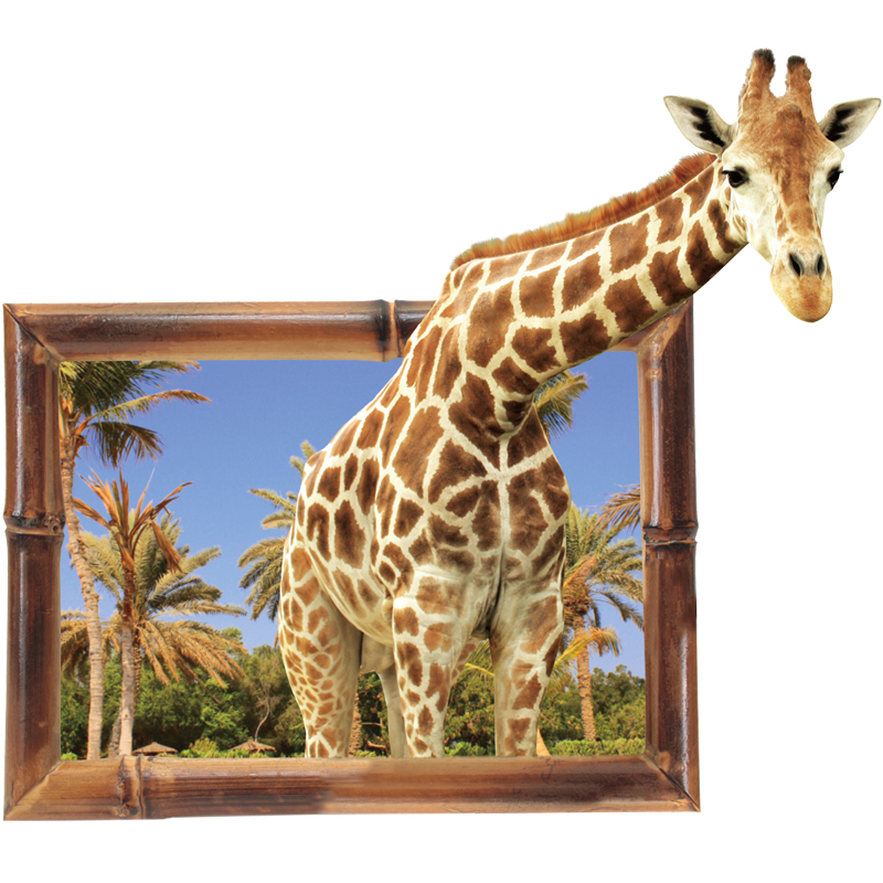 Sticker Girafe invitée