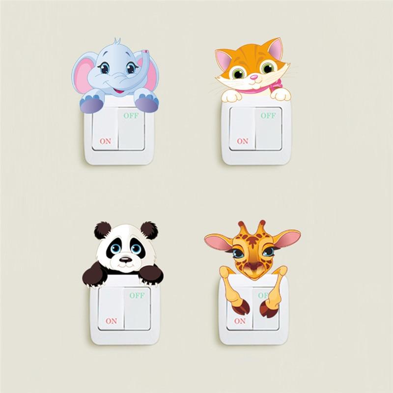 Sticker Animaux pour interrupteurs