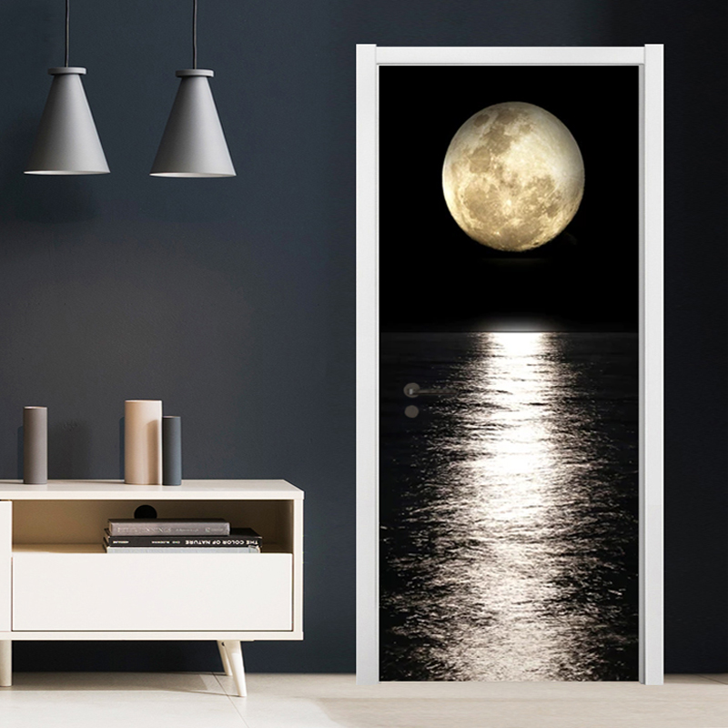 Sticker Porte Lune