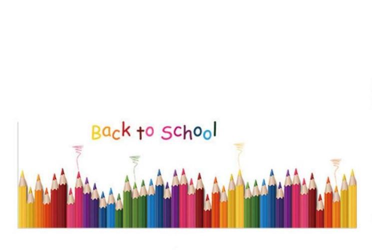 Sticker Frise crayons de couleurs