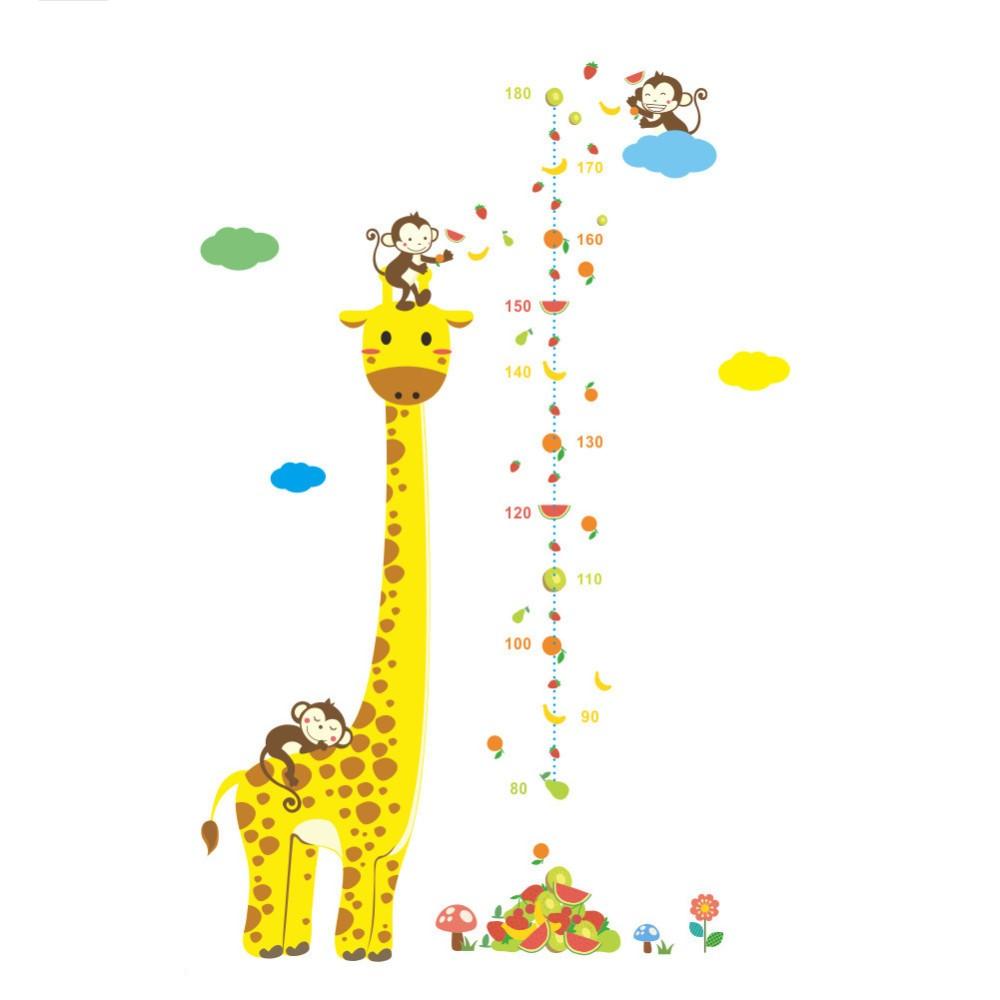 Sticker Toise Girafe