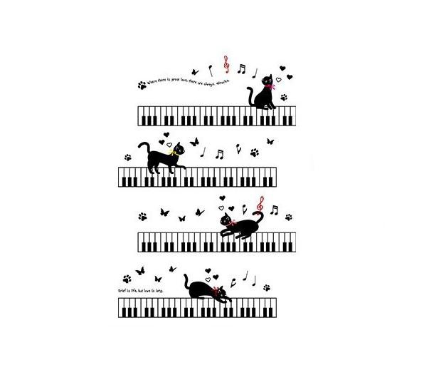 Sticker Chats musique