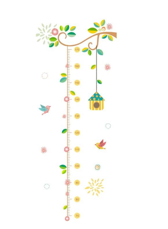Sticker Toise Oiseaux