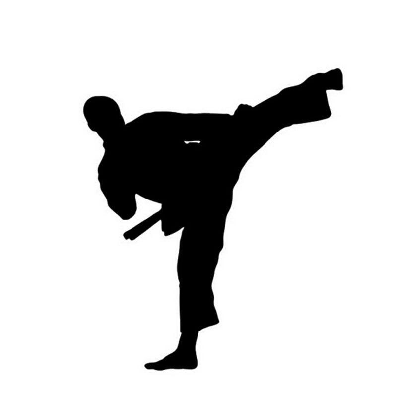 Sticker Art martial