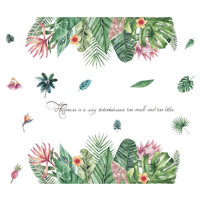 Sticker Plantes tropicales