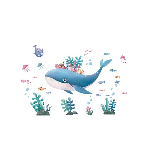 Sticker Animaux marins