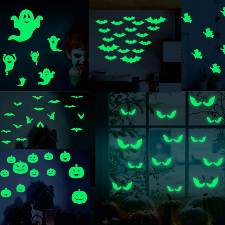 Stickers phosphorescents Halloween
