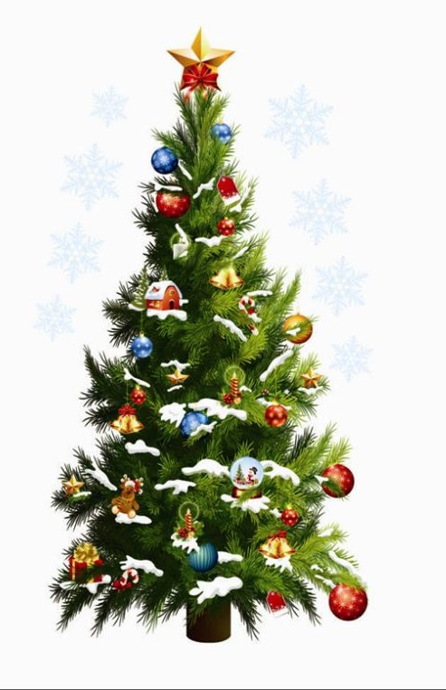 Sticker Sapin de Noël