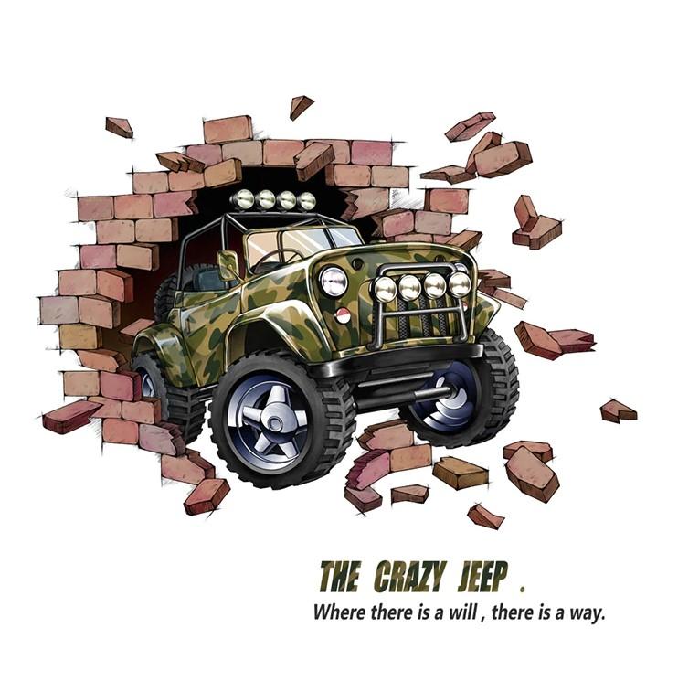 1566 sticker jeep