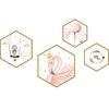 Shijuekongjian-Flamingo-animaux-Stickers-muraux-bricolage-dessin-anim-fille-Stickers-muraux-pour-enfants-chambre-salon