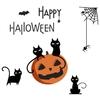 Bricolage-Halloween-Stickers-muraux-noir-chat-araign-es-citrouille-lanterne-chat-Stickers-muraux-amovible-fen-tre