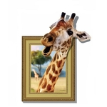1060 Sticker Girafe 3D