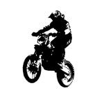1650 Stickers Motocross 4