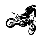 1650 Stickers Motocross 5