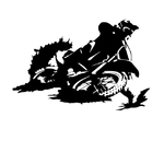 1650 Stickers Motocross 6