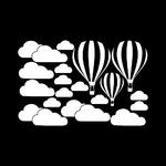 KAKUDER-autocollant-mural-pour-chambre-d-enfants-bricolage-grands-nuages-ballon-d-calcomanies-a802-08