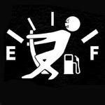 Autocollants-et-d-calcomanies-de-voiture-autocollants-de-voiture-style-12CM-9CM-haute-consommation-de-gaz