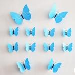 Livraison-gratuite-12-pi-ces-PVC-3d-papillon-d-coration-murale-mignon-papillons-stickers-muraux-art