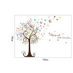 Papillon-arbre-d-cor-la-maison-adesivo-de-parede-Art-Stickers-3D-sticker-mural-bricolage-d
