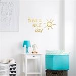 Autocollant-mural-vinyle-a-avoir-une-belle-journ-e-soleil-Stickers-de-d-coration-pour-salon