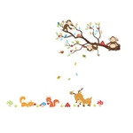 1255 Sticker Animaux rigolos fblanc