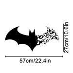 1287 Sticker Chauve souris - taille