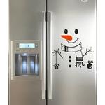 1526 Sticker Bonhomme de neige