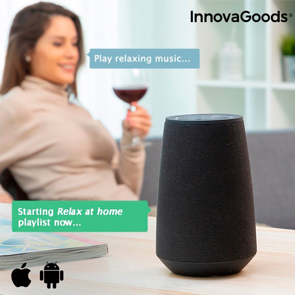haut-parleur-bluetooth-intelligent-assistant-vocal-vass-innovagoods