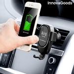 support-pour-telephone-portable-avec-chargeur-de-voiture-sans-fil-wolder-innovagoods_118542