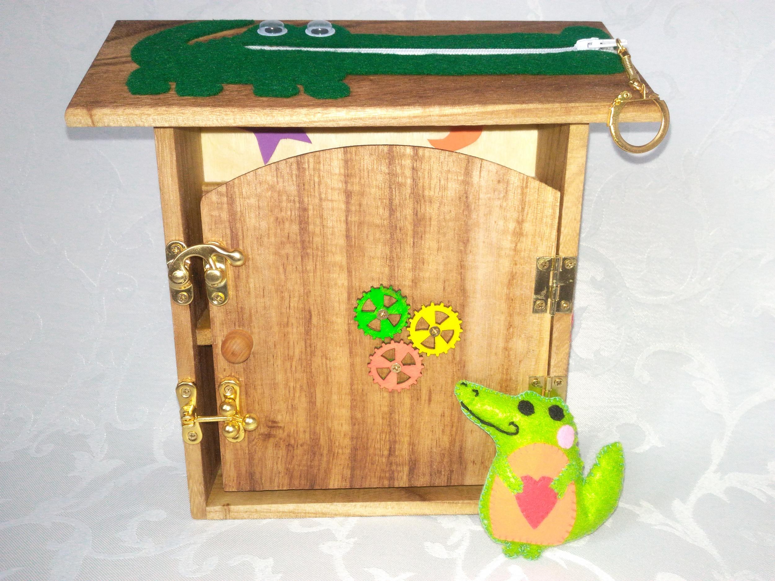 Jouet Montessori Maisonnette en bois