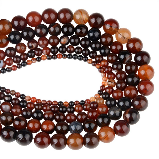 Bracelet arc-en-ciel en perles Chanfar