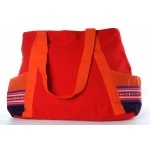Sac de shopping Lisu - rouge