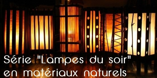 objets pour la maison lampes zen lampes d 39 ambiance. Black Bedroom Furniture Sets. Home Design Ideas