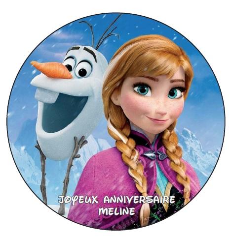 La reine des neiges v1 image personnalisee texte je te - Image reine des neige ...
